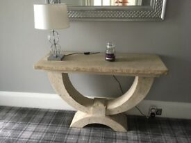 Console Table made of stone for sale