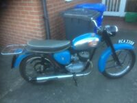 Blue BSA Super D7 1964 £1445 ONO