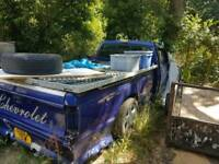 Chevy Chevrolet s10 pick up truck 1987 for restoration American