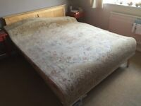 Aubusson hand made wool rug, 1.7x2.4m