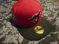 Red / Black Toronto Blue-Jays Snap Back Cap