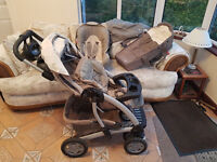Graco 3 in 1 Travel System includes Pushchair, Travel Cot and Car Seat etc.