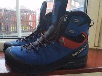 Salomon Mens X Alp MTN GTX B1 Boots C1 compatible