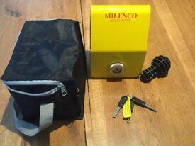 Milenco tow hitch lock