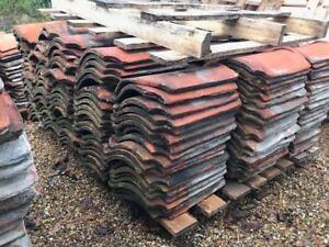 Reclaimed Red Norfolk Pan Tiles Pan Tiles Roof Pantiles Approx. 1000+ 14