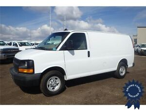 2016 Chevrolet Express Cargo Van Rear Wheel Drive - 14,240 KMs