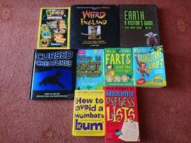 Fun Kids Science/Nature/Knowledge Books lot