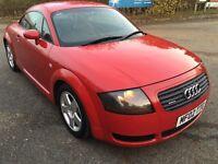 2002 Audi TT 1.8 Turbo,Petrol,Manual,3 Door Hatchback,MOT,TAX(Like Golf A3,Focus,Civic,Astra)