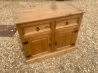 Solid pine sideboard. Dovetail Joints