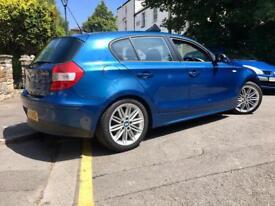 BMW 1 SERIES 118D SE 2.0 TD / Leather / Sydney Blue / M-Sport Alloys