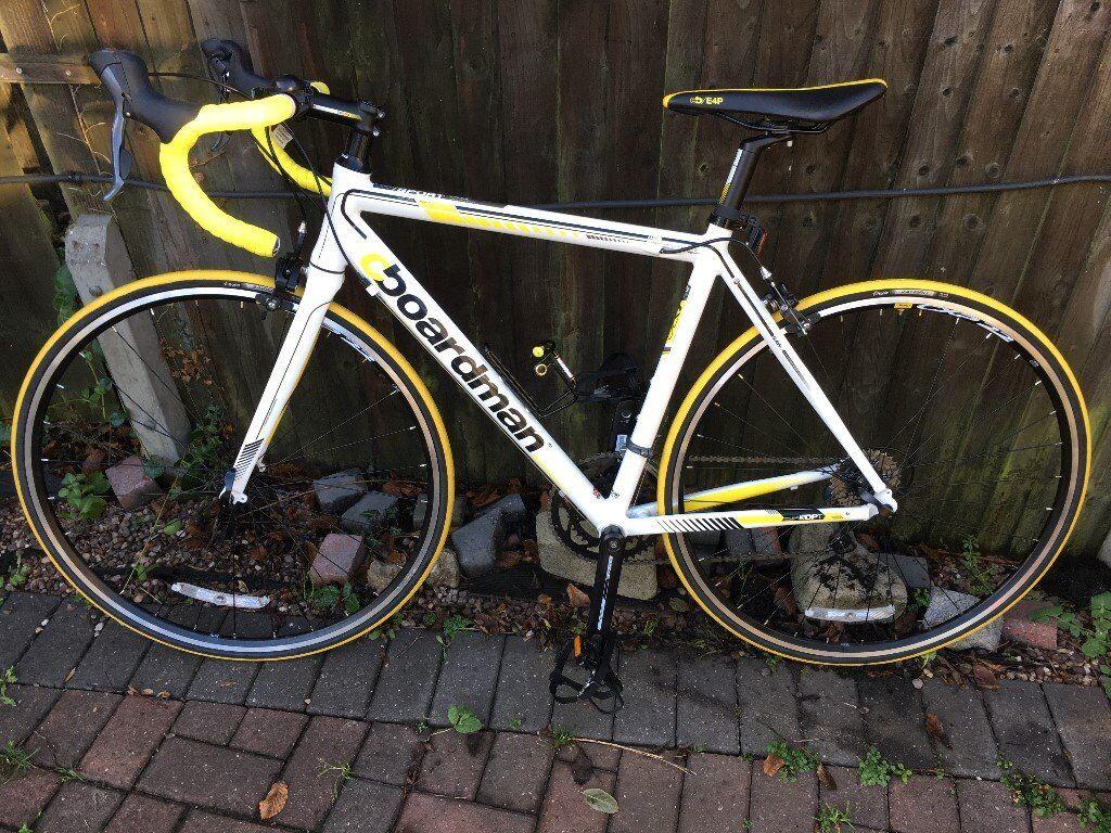 Racing Bike Boardman Road Sport Limited Edition White Yellow