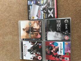 PS3 games inc Assassins Creed II