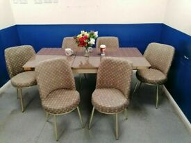 😍😍CLERANCE SALE 💖💖ON LOUIS VUITTON EXTENDABLE DINING TABLE AND 6 CHAIRS