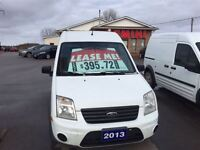 2013 Ford Transit Connect XLT- Lease for $395.72 plus HST
