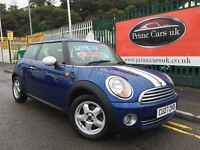 2007 07 MINI Hatch 1.6 Cooper 3dr 6 Speed Manual Petrol Low Miles