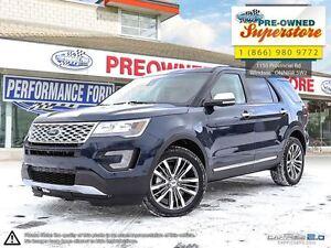 2016 Ford Explorer Platinum >>>NAV, AWD, white leather<<<