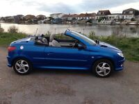 peugeot 206cc LPG and petrol