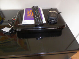Freesat set top box and recorder. Humax HDR1000S 1TB with Freetime catch up, a year old