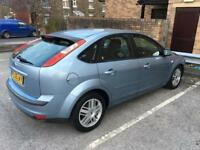 FORD FOCUS GHIA 1.6 PETROL 2005 MANUAL