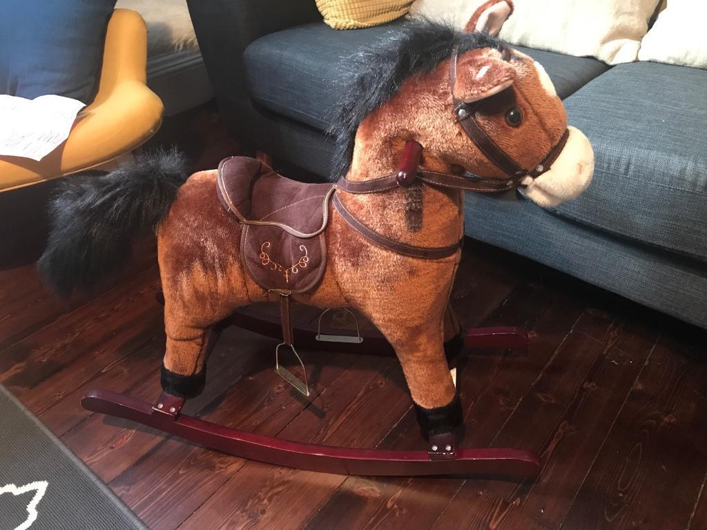 Rocking Horse with movement/sound.