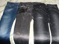 3 PAIRS SLIM LEG JEGGINGS (Brand New & Boxed)