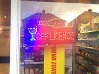 Off licence for sale £9950 Ono