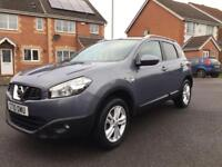 NISSAN QASHQAI N-TEC 1.5 DCI , 12 MONTH MOT, SAT NAV, SERVICE HISTORY, LOW MILEAGE, HPI CLEAR,