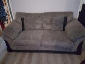 Dfs 2&3 seater sofa