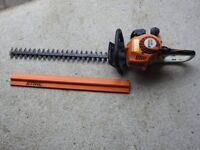 """Stihl HS45 (24"""") double sided hedge cutter."""