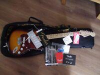 Fender Standard Stratocaster Brown Sunburst Maple Neck