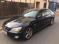LEXUS IS200 SE AUTOMATIC 4 DOOR SALOON AUTOMATIC 2003 PETROL WITH MOT SERVICE HISTROY