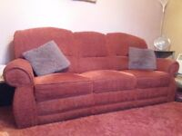 3 Seater Recliner Sofa and 1 Armchair
