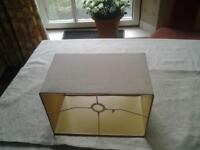 Free Beige Rectangular Lampshade ideal for table lamp