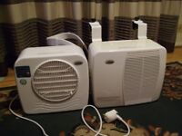 Portable caravan motorhome air conditioning unit. 'Cool My Camper'.