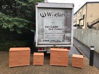 Beechwood 2 drawer locker £20 a piece/ beechwood 3 drawer chests £40 a piece