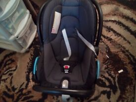 Baby car seat and ISO Base for sale!!