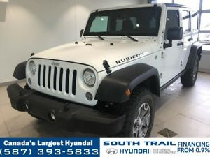 2017 Jeep Wrangler UNLIMITED RUBICON - SOFT TOP, LEATHER ACCENTS