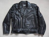 Men's Avia Trix Leather Brando Jacket - New without tags.