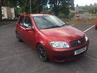 Fiat Punto 1.2 2006 55 Reg 3 owners FSH recent cambelt genuine car black alloys cd like Corsa Micra