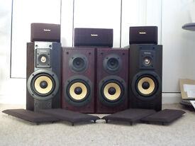 TECHNICS speaker set