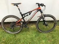 Boardman team full suspension mountain bike