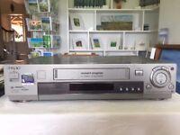 Sony SLV-SF90 VCR Player with RMT-V259F remote