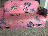 Minnie Mouse toddler sofa