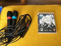Singstar for PS3 Mics and game