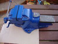 Heavy duty Fortis Bench Vice for Mechanic's or Engineers British made.