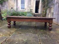 Antique Victorian coffee table for refurbishment