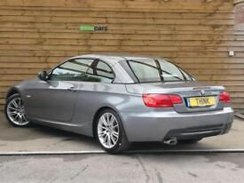 BMW 3 Series 320d M Sport 2dr Step Auto STUNNING EXAMPLE (space grey metallic) 2013