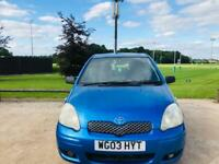 TOYOTA YARIS AUTOMATIC 2003 5DR 12 MONTH MOT IDEAL FIRST CAR CHEAP TO INSURE