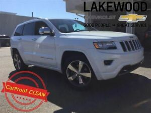2015 Jeep Grand Cherokee Overland 4x4(Nav, Keyless Entry, Sunroo