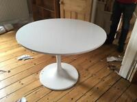 Free white table
